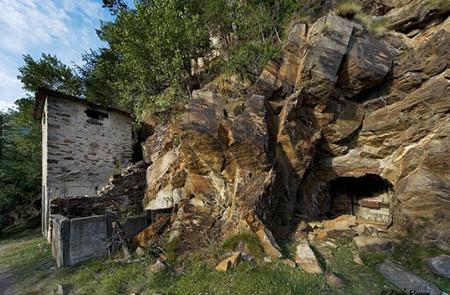 La Miniera d'oro di Brusson