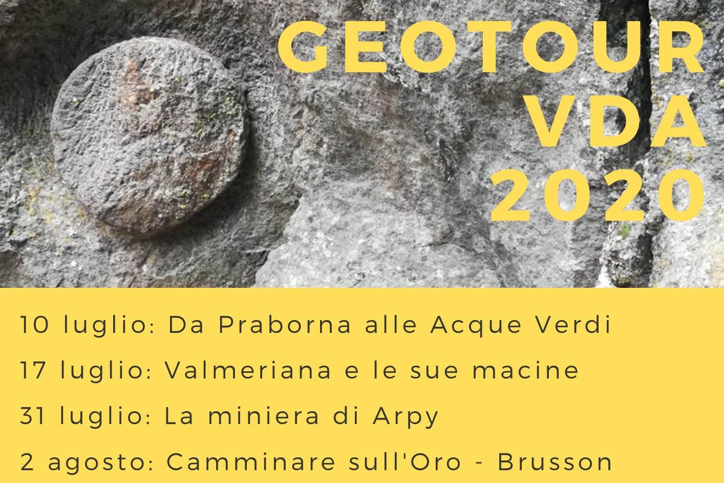Geotour - Miniera d'oro di Brusson